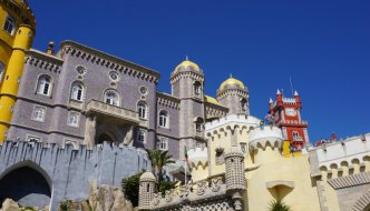 Pena Palace – the most colourful palace I've ever seen