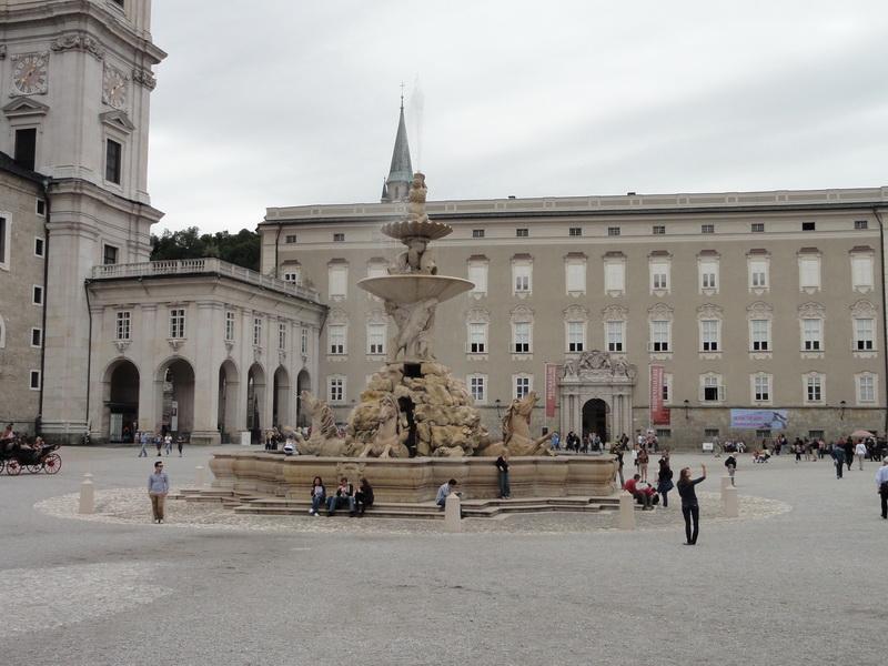 Residence Square in Salzburg