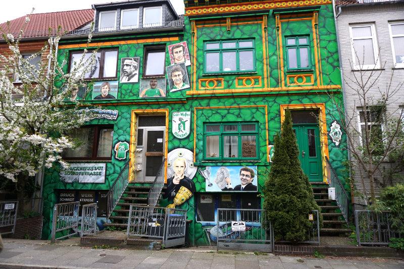 Werder Bremen - Street art