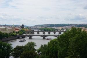 The Vltava River in Prague 2015