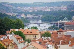 The Vltava River in Prague