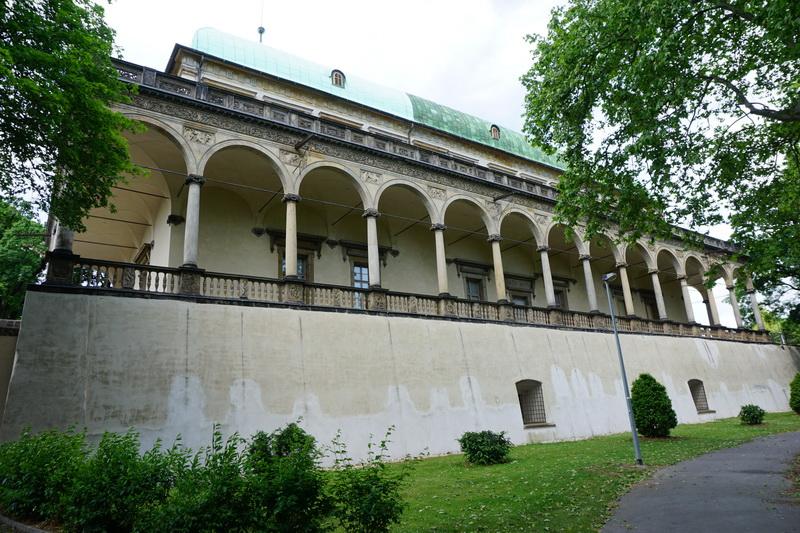 Lustschloss Belveder The Prague Castle