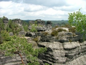 A first for me – rock climbing in the Elbe Sandstone Highlands