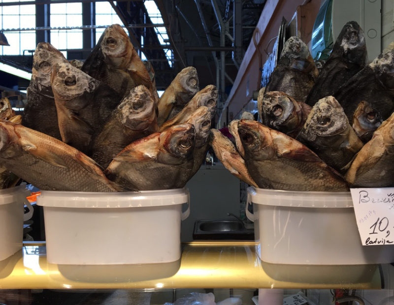 A fascinating visit to Riga Central Market