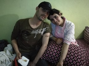 Fatima Zahra's brother and his wife