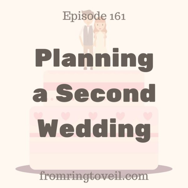 161  Planning a Second Wedding  From Ring to Veil