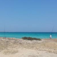 Punta della Suina, Gallipoli beach / пляж Галлиполи