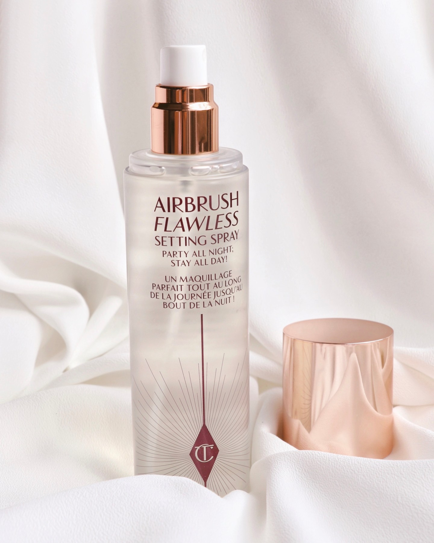 NEW Charlotte Tilbury Airbrush Flawless Setting Spray Ingredient List