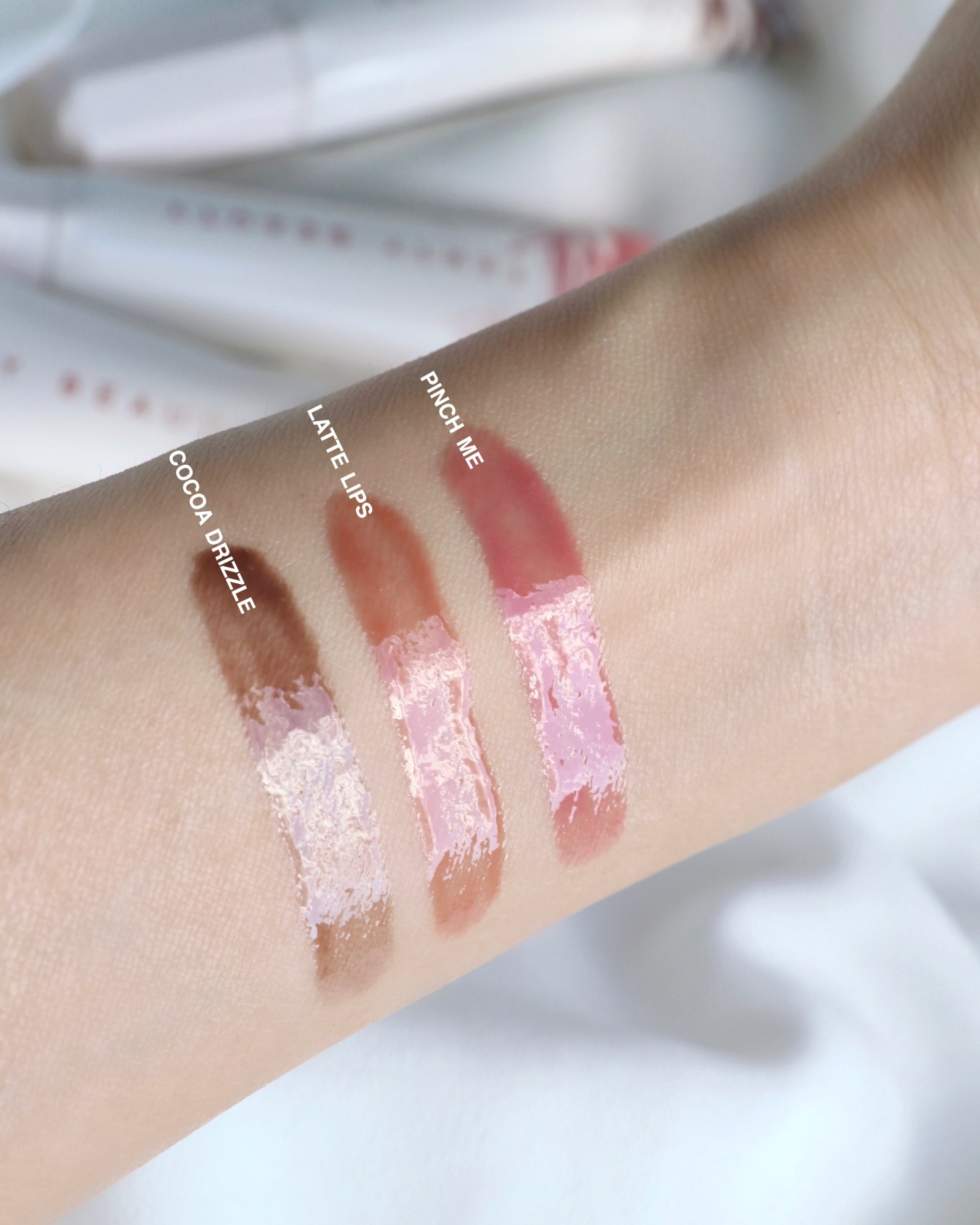 Fenty Beauty PRO KISS'R LUSCIOUS LIP BALM Swatches