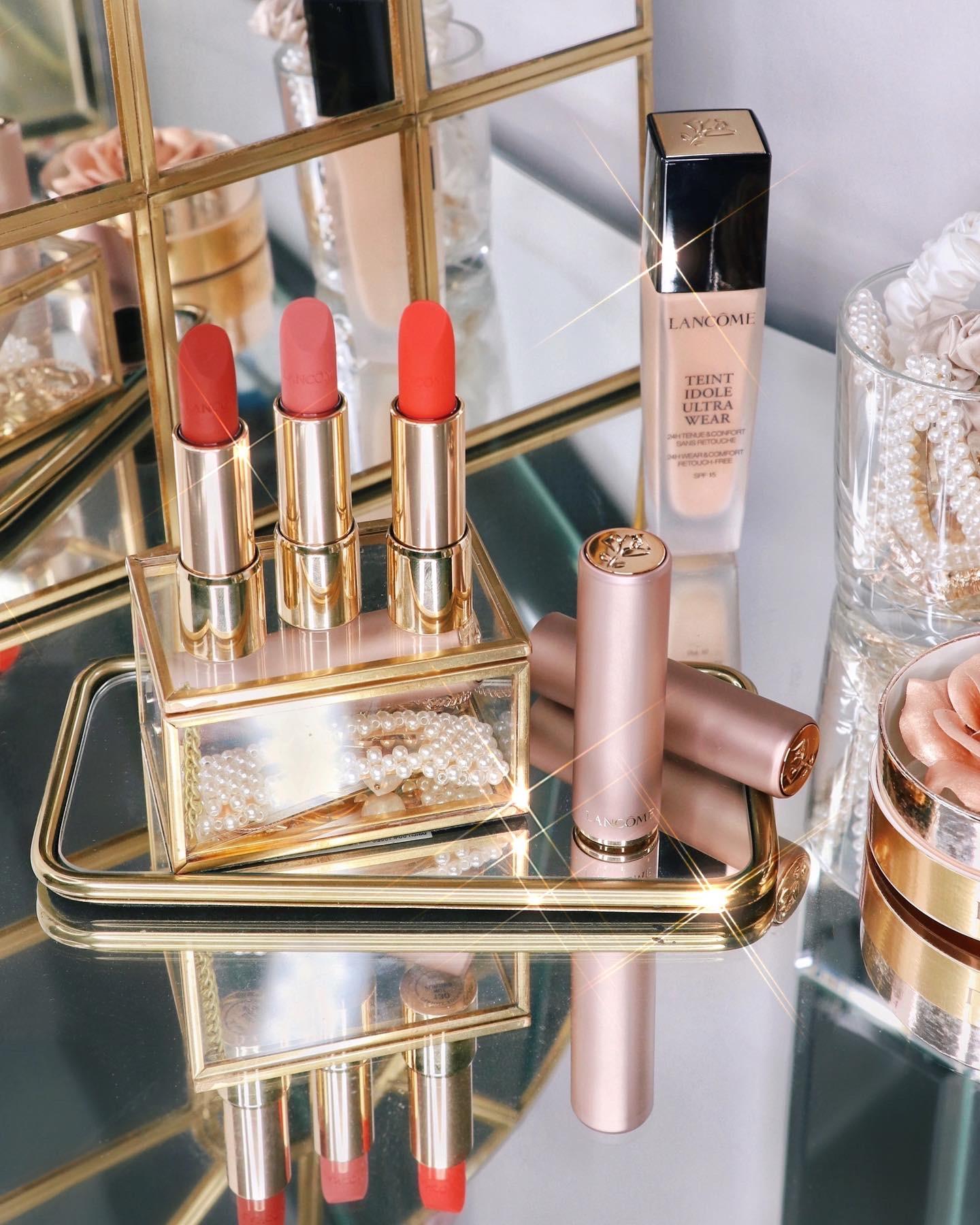 Lancôme L'Absolu Rouge Intimatte Lipsticks
