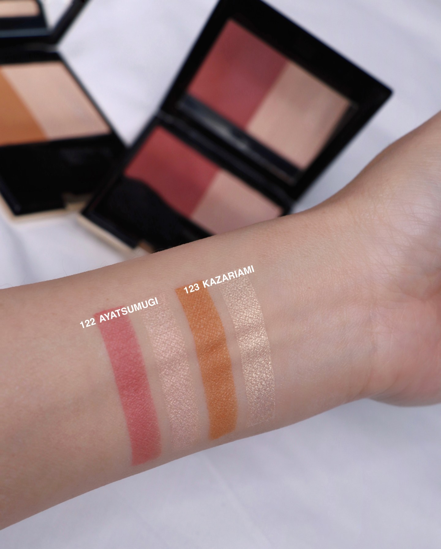 SUQQU 2020 Holiday Collection Pure Color Blush Swatches