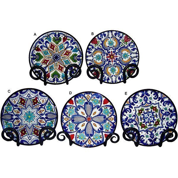 Ceramic Renaissance Plate, from Valencia, Spain