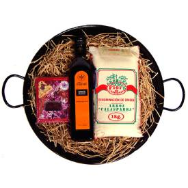 Paella Gift Set with Spanish Ingredients