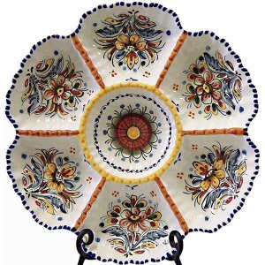Spain ceramic antipasto tapas plate