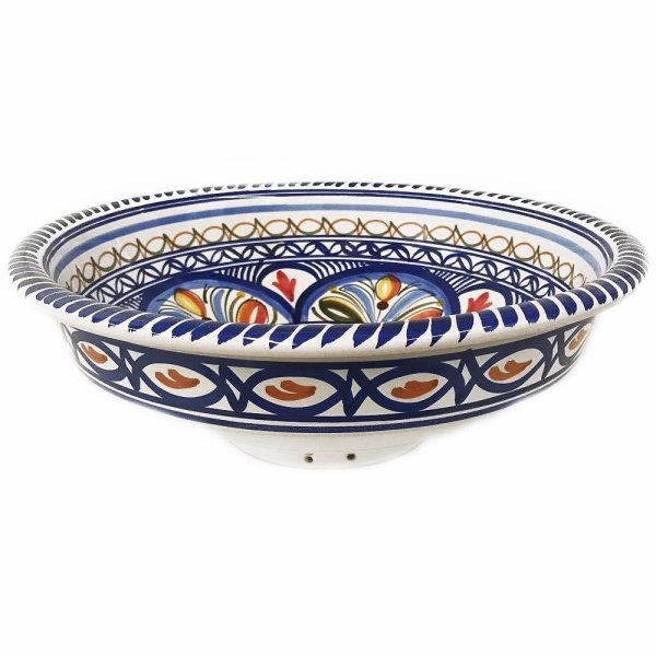 Multicolor Large Bowl Side