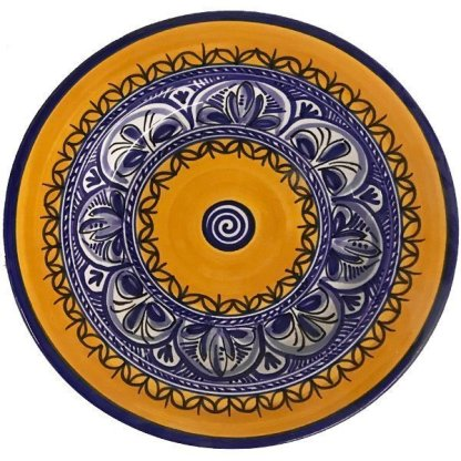 Fiesta Yellow Plate from Spain