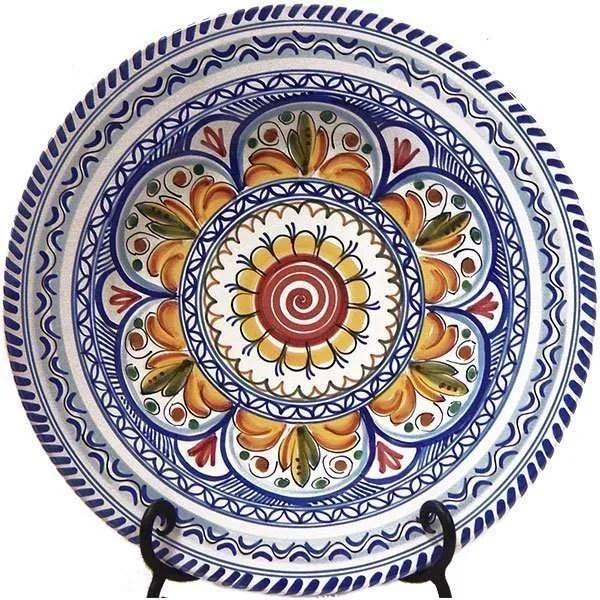 Hand Painted Spanish ceramic Plate