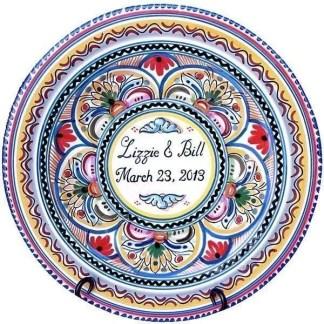 Personalized Spanish Ceramic Plate