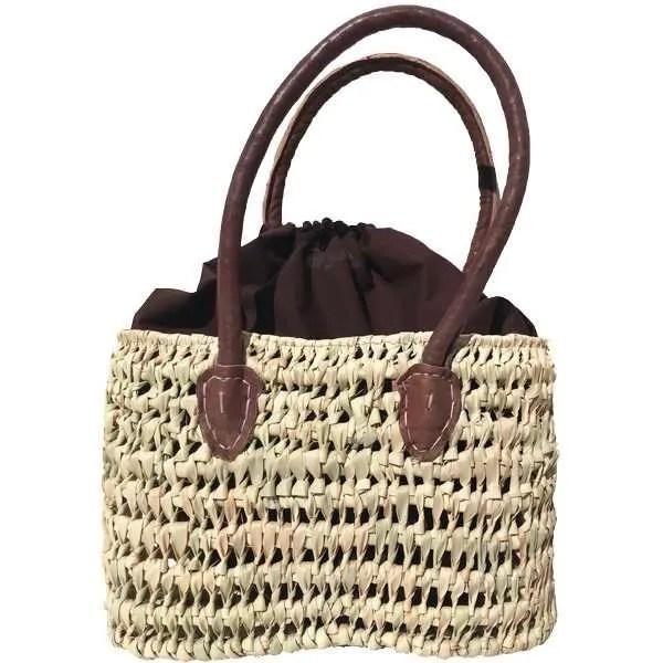 Wicker handbag from Spain