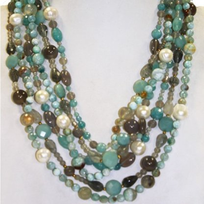 Amazonite Necklace from Spain