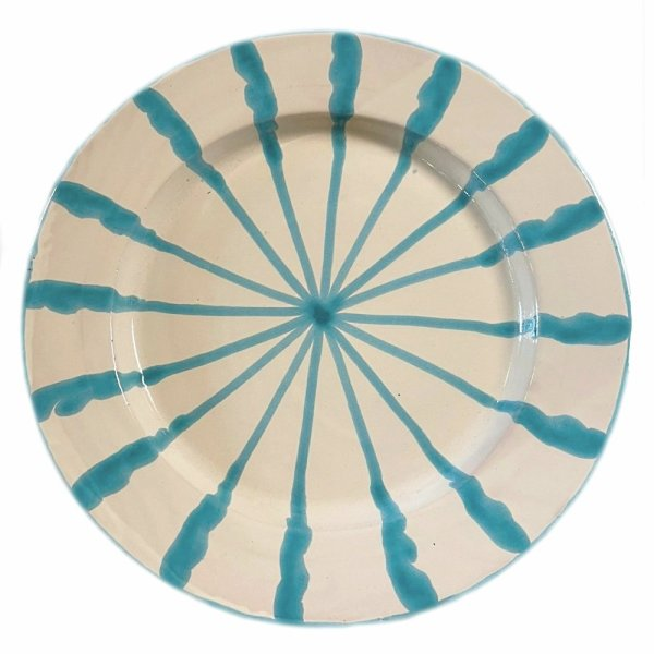Granada Turquoise Plate