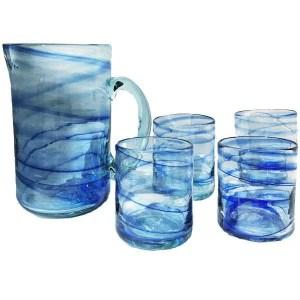 Mallorca Glass Pitcher