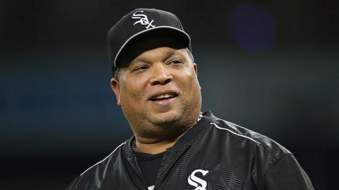 Todd Steverson White Sox hitting coach