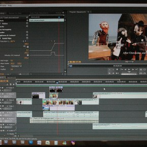 Post Production from The Hunting of the Snark