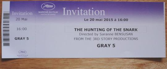 Hunting of the Snark Cannes 2015