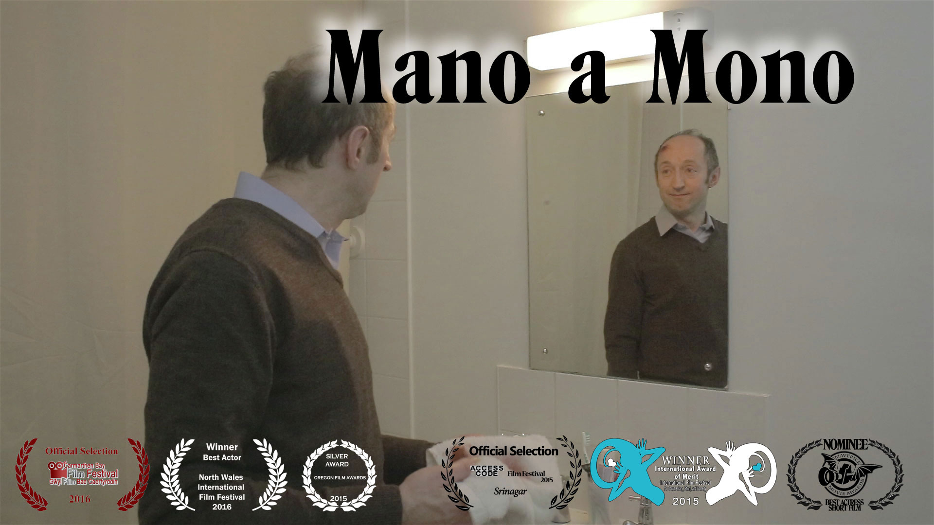 Adam Reflect Laurels - Mano a Mono - a short film <br>directed by Saranne Bensusan