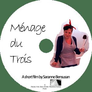 Disc for Saranne Bensusan's Ménage du Trois