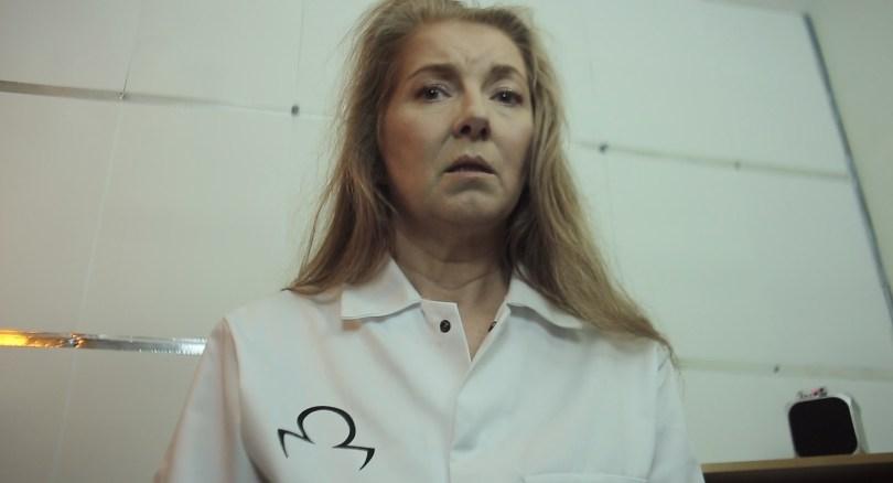 Stine Olsen plays Emilie in the Dystopian short, Lavenders Blue