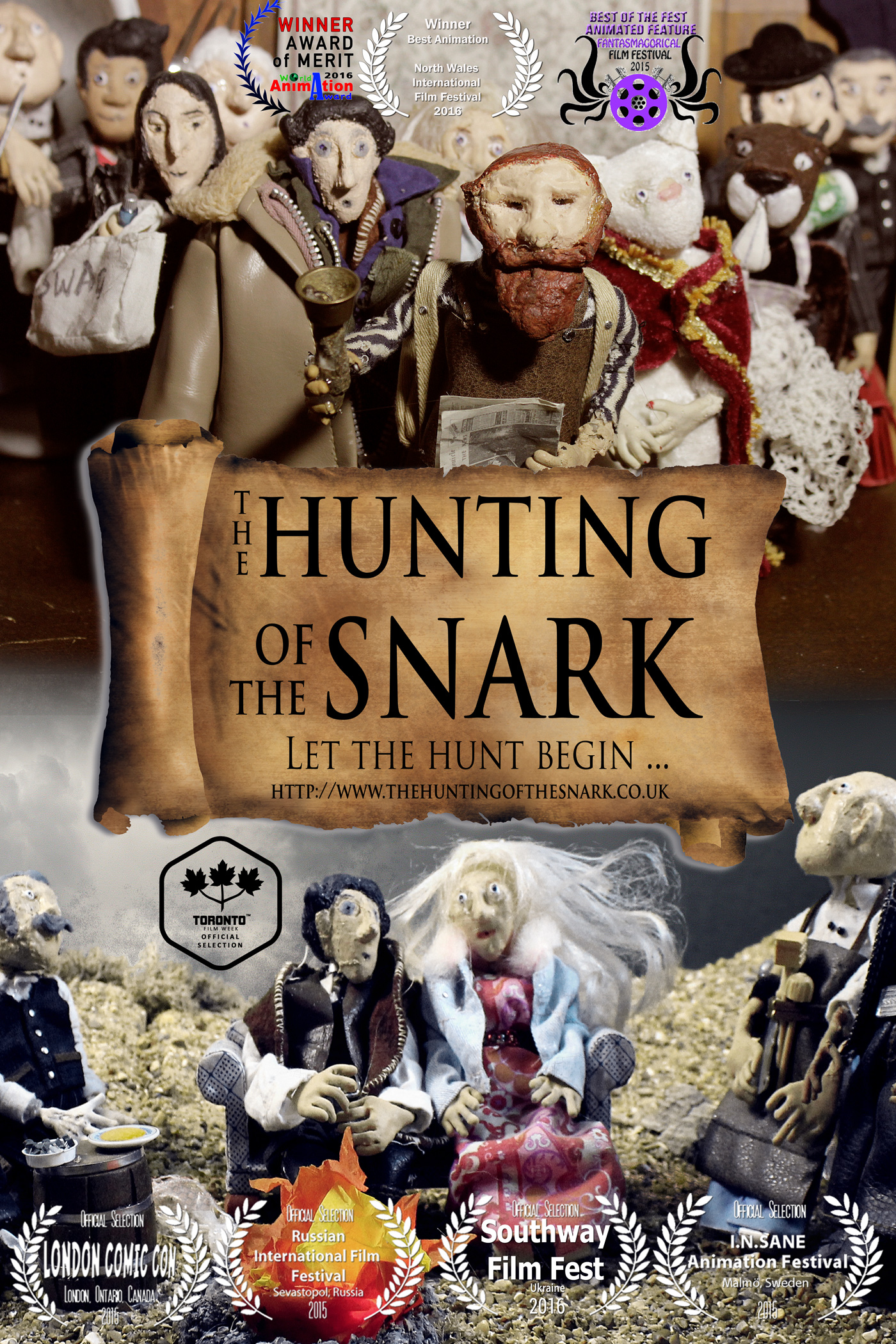 Lewis Carroll's Hunting of the Snark, by Sarane Bensusan