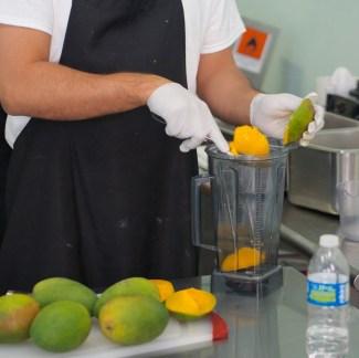 Fresh Mango at Señor Paleta