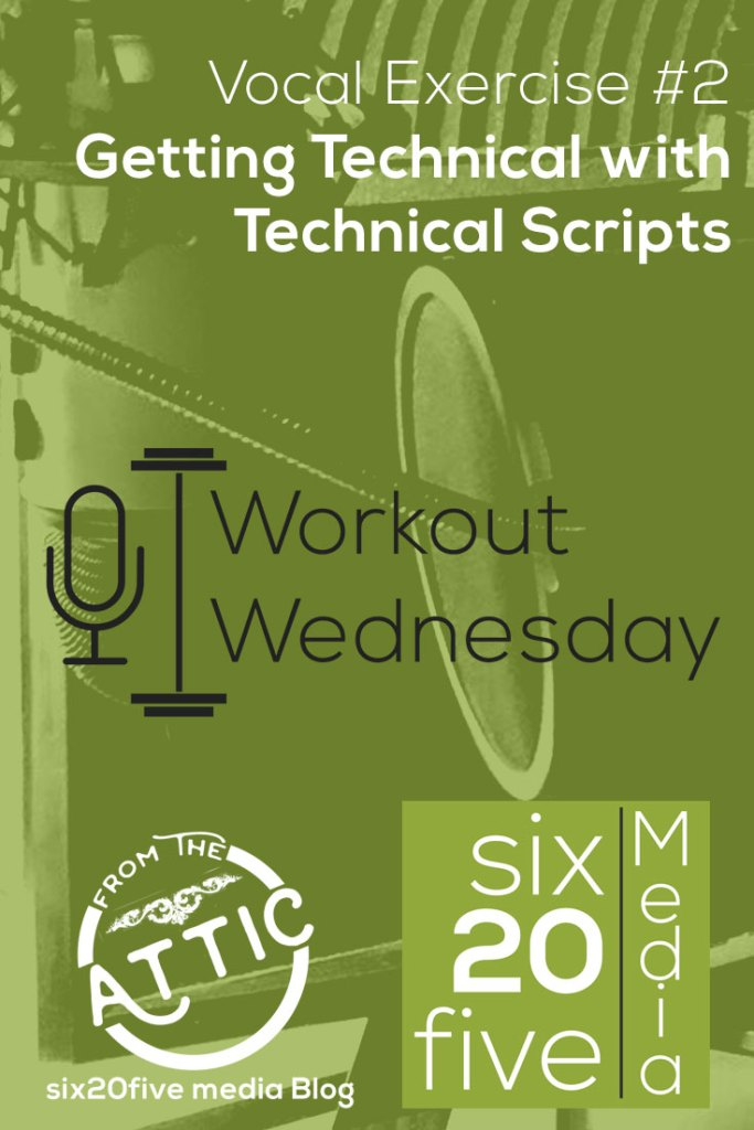 Getting Technical with Technical Scripts - Workout Wednesday
