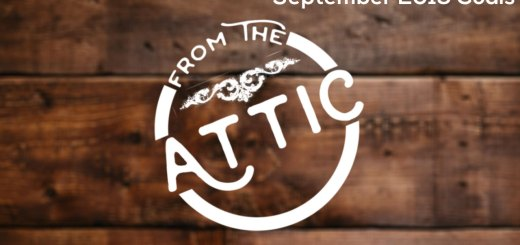 September 2019 Goals - From the Attic