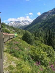 View from White Pass Railroad.