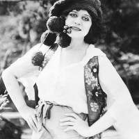 Theda Bara in The She-Devil (1918)