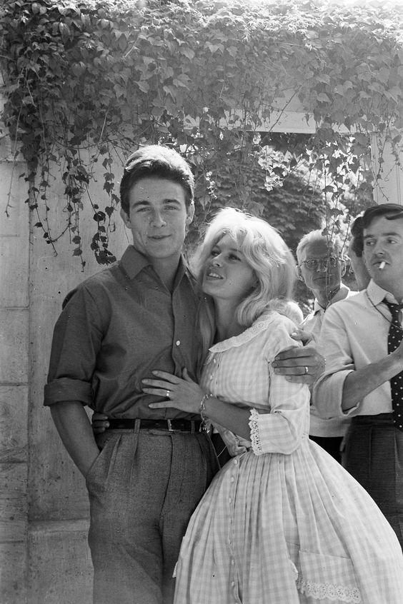 Nicolas-jacques Charrier : nicolas-jacques, charrier, Brigitte, Bardot's, Wedding, Actor, Jacques, Charrier, (1959), BYGONE
