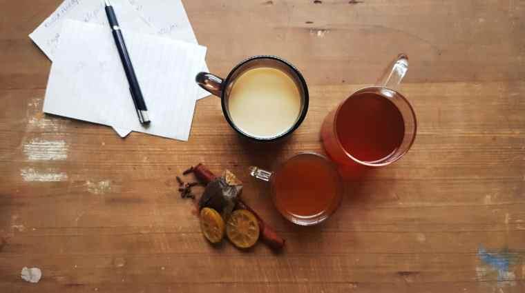 from the corner table, fromthecornertable, photo:Vaibhav Tanna, tea, travel tuck-in talk, tea time, tea recipes, marmalade tea, pineapple tea, spiced green tea