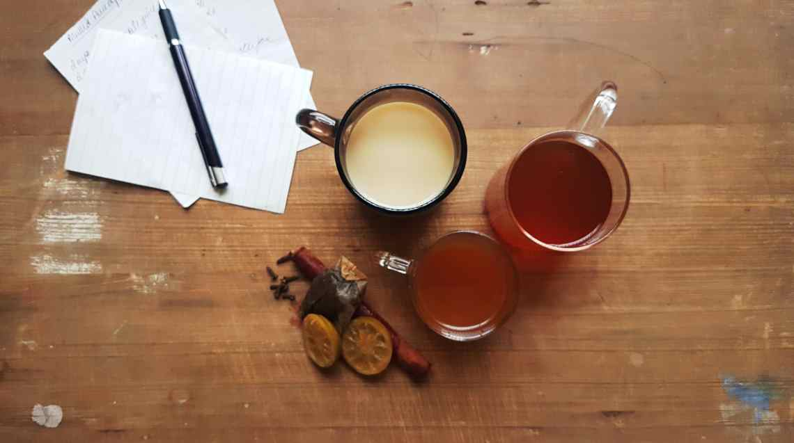 from the corner table, fromthecornertable, photo:Vaibhav Tanna, tea, travel tuck-in talk, tea time, tea recipes, marmalade tea, pineapple tea, spiced green tea