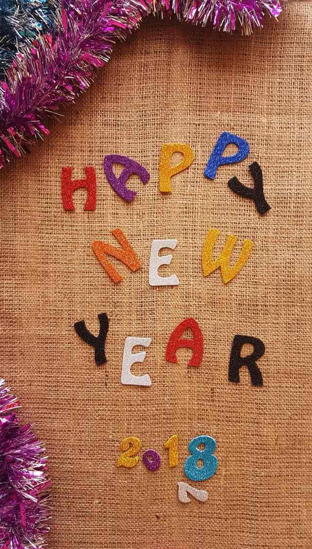 HNY from the corner table, fromthecornertable, new year resolutions, 2018, goals