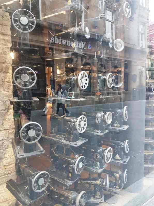 A window display at Buchanan Street, Glasgow, #fromthecornertable