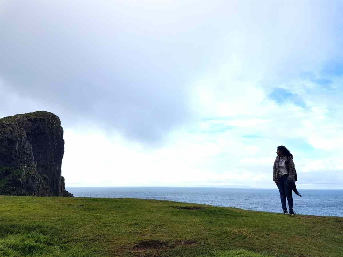 Neist point, #fromthecornertable, from the corner table