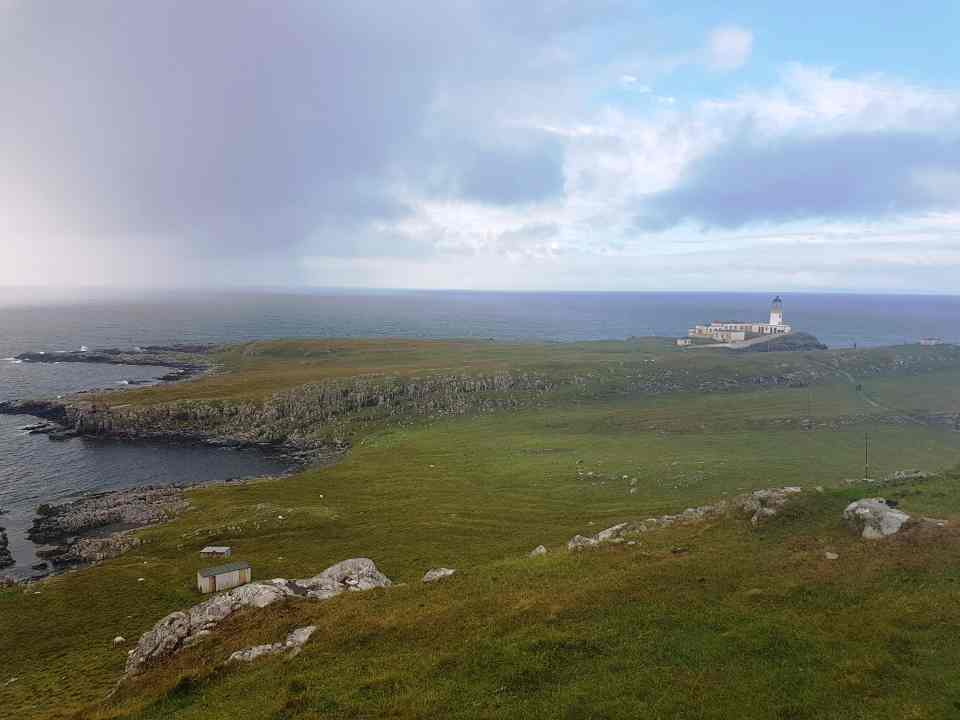 Neist Point, from the corner table, #fromthecornertable