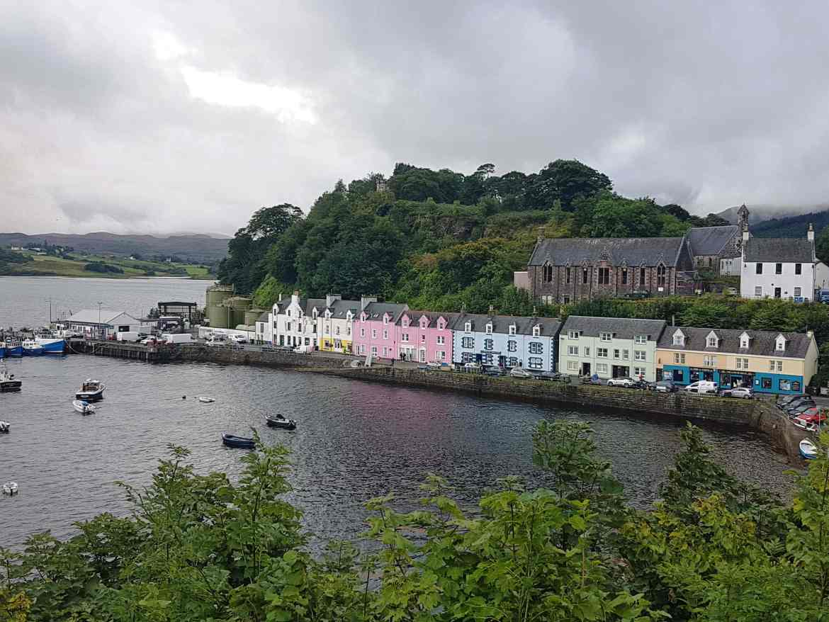 Portree, from the corner table, #fromthecornertable