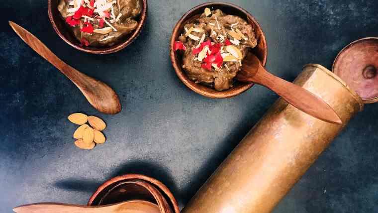 IMG_E4763, fromthecornertable, from the corner table, water chestnut halva, photo: gautam chakravarty