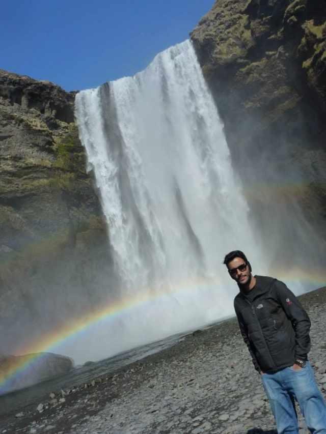 Skogafoss, Iceland, from the corner table , #fromthecornertable