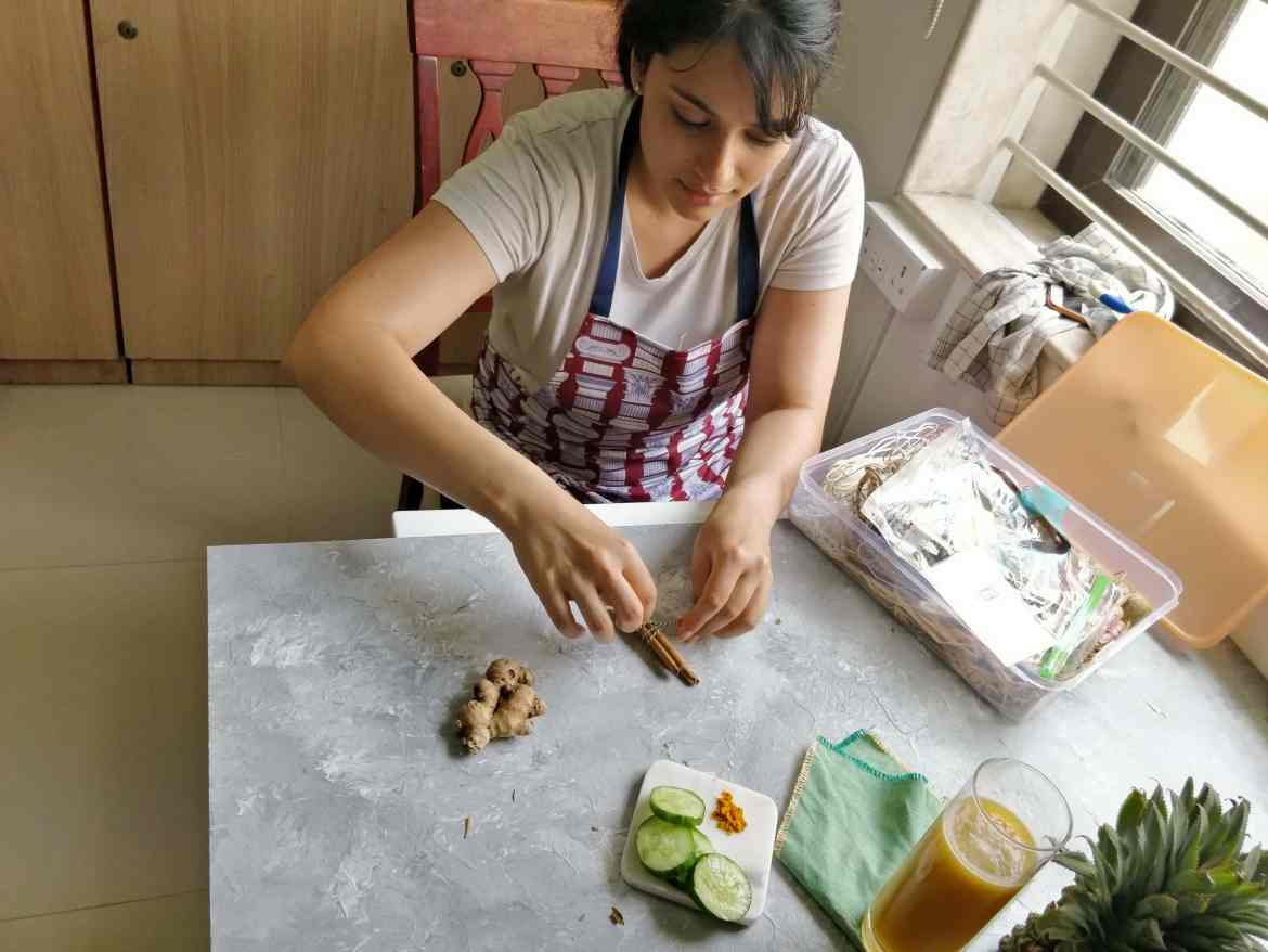 Kamini Patel, Kitchen Therapy, #fromthecornertable, #kitchentherapy