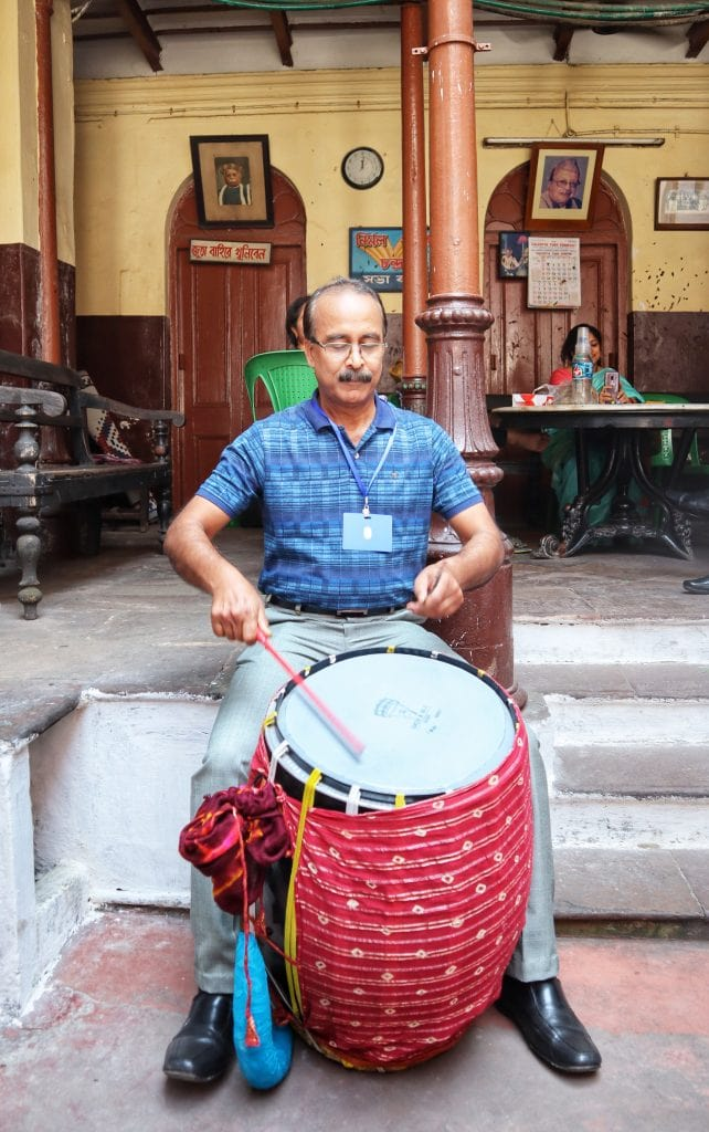 fromthecornertable, from the corner table, durga puja, bonedi bari puja, dhaak